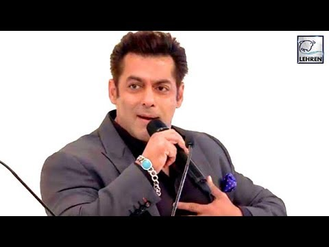 Salman Khan: I Used To Flirt With My School Teache