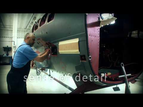 Promo video společnosti AERO Vodochody,...