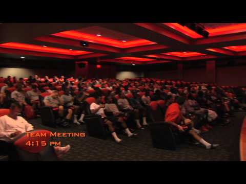 Day in The Life - This video details a Day In The Life of an Oklahoma State football player during training camp.