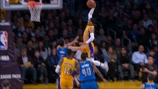 Jordan Clarkson Steals and Skies for the Dunk | 12.29.16 by NBA