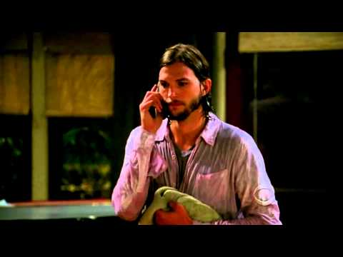 Two and A Half Men Season 9 Episode 1 (With Ashton Kutcher)