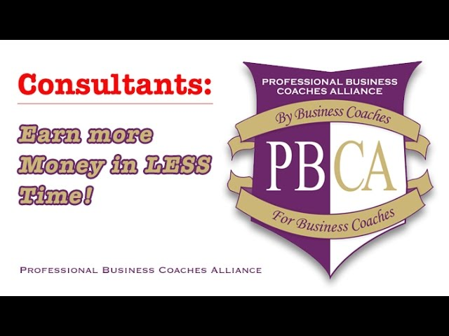 Business Consultants: Want to Earn More in 2016?