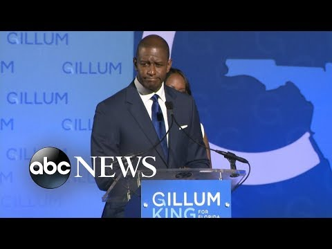 Andrew Gillum concedes for a second time in heated Florida governor's race