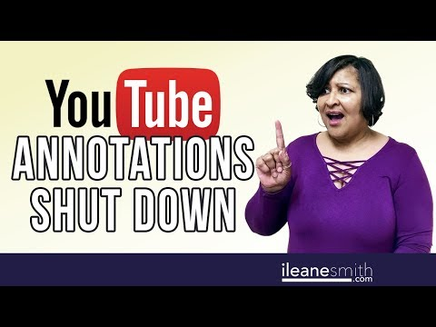Watch 'Your YouTube Video Annotations Are Being Replaced!'
