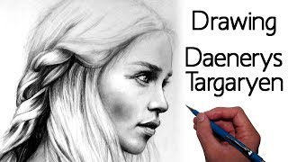 Hey everyone! Here's my drawing of Daenerys Targaryen (Emilia Clarke). I decided to work on some Game of Thrones fan art as...