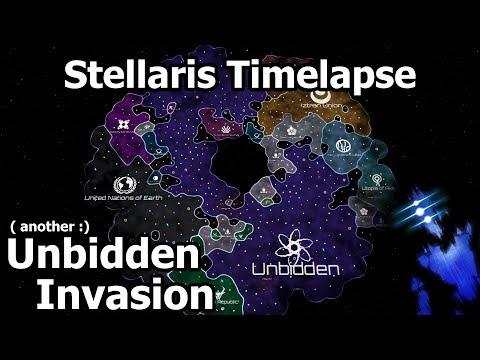 Stellaris Timelapse - Probably another Unbidden Invasion