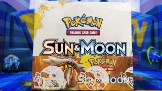 OPENING A POKEMON TCG SUN & MOON BASE SET BOOSTER BOX OF POKEMON CARDS!!! by The Pokémon Evolutionaries