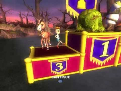 Shrek Smash n' Crash Racing (PS2 Gameplay)