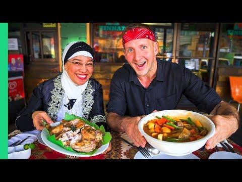 Filipino HALAL Food Tour! The HIDDEN Muslim Eateries of Davao, Mindanao! Mountain Dew