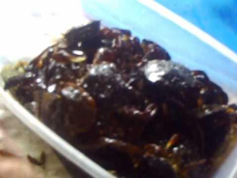 burong talangka (preserved crablets)
