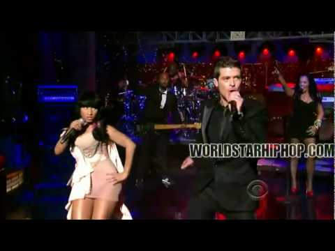 Nicki Minaj And Robin Thicke- Shaking It For Daddy  Perfomac