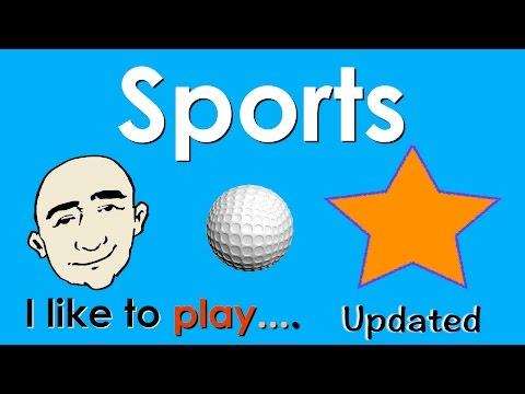 Sports   I Like To Play...   English Speaking Practice   ESL   EFL