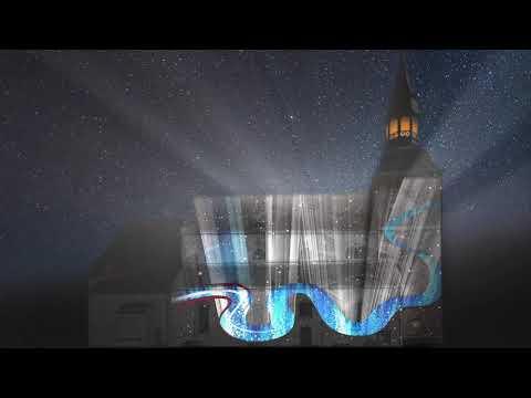 18.novembrī Valmierā – gaismas stāsts uz baznīcas sienas