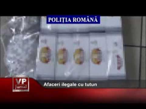 Afaceri ilegale cu tutun