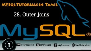 MYSQL Tutorials In Tamil 28  Outer Joins