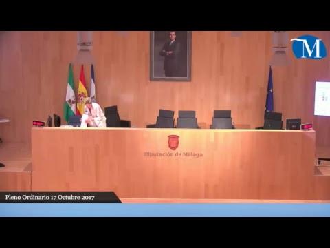 Pleno ordinario de la Diputación correspondiente al mes de octubre