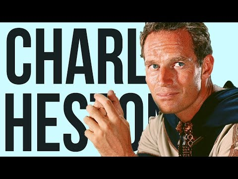 Charlton Heston Was More Important Than The President of The U.S.? 10 Facts about Charlton Heston