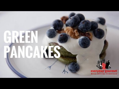 Blackmores Green Pancakes | Everyday Gourmet S6 E58