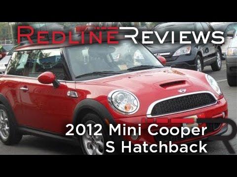 2012 Mini Cooper S Hatchback Review, Walkaround, Start Up, Test Drive (видео)