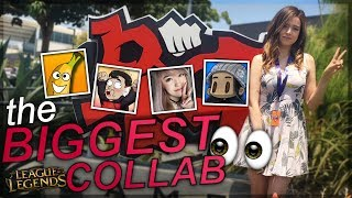 """hi everyoneee in today's vlog we're visiting the riot headquarters and participating in the Riot Content Creator Lab 3.0 with 4 other people to make something within 48 hours - it was a lot of fun and hope to collab with everyone again soon!*cough* don't forget to check out these people too btw 👀*cough*AngelsKimi https://twitter.com/AngelsKimihttps://www.youtube.com/channel/UCqssxU4UBzijbdTH3r5LoswMagikarpUsedFly https://twitter.com/themattcastrohttps://www.youtube.com/user/MagikarpUsedFlylolBananaPeelzhttps://twitter.com/BananaPeelzYThttps://www.youtube.com/user/BananaPeelzOfficialGlitchxCity https://twitter.com/GlitchxCityhttps://www.youtube.com/user/GlitchxCity❤Expand me❤Discord ➡ https://discord.gg/RjVkgYmTwitch ➡ http://www.twitch.tv/pokimaneTwitter ➡ http://www.twitter.com/pokimanelolInstagram ➡ http://www.instagram.com/pokimanelolSnapchat ➡ Add """"pokimane"""" :)Facebook ➡ http://www.facebook.com/pokimaneMy computer ➡ https://www.asus.com/us/Tower-PCs/ROG-GT51CA/Edited By ➡ https://twitter.com/kinamp4Intro Song:Tobias - Somethinghttps://www.youtube.com/watch?v=tbJdzRJcsFAOutro Song:Moe Shop - You Look So Goodhttps://soundcloud.com/moeshop/pure-pure-you-look-so-good"""