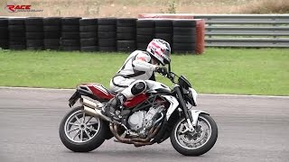 10. MV Agusta Brutale 1090 RR 2014 - My first time on track + ONBOARD