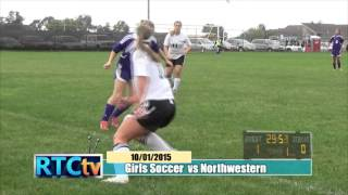 Rochester High School Girls Soccer vs Northwestern