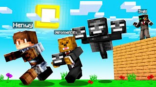 Spawning A WITHER In His HOUSE On Camp Minecraft | JeromeASF