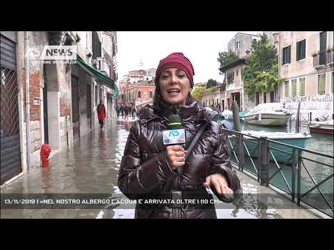 13/11/2019 | «NEL NOSTRO ALBERGO L'ACQUA E' ARRIVATA OLTRE I 110 CM»