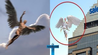 Top 10 Angels Caught On Camera Flying & Spotted In Real Life  Angel Sightings