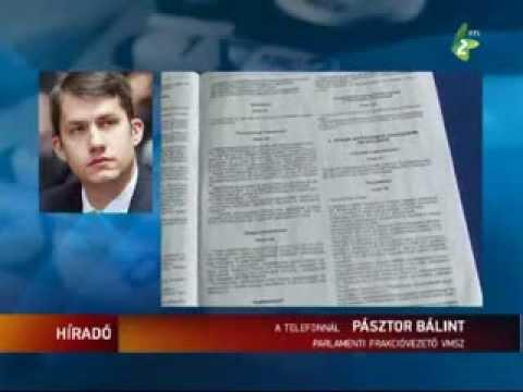 Híradó - Pénteken tárgyal a statútumról a szerbiai parlament-cover