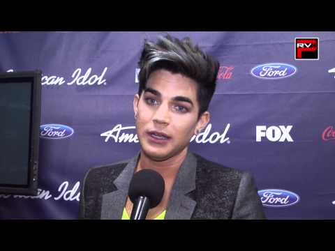 Adam Lambert interview at performing on American Idol Season 11