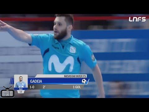 Jogo Completo Inter Movistar 4 x 2 Barcelona - FINAL Jogo 1 Liga Espanhola de Futsal 2017/2018