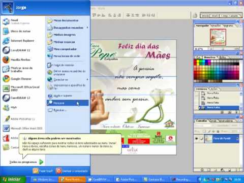 e mailing - Neste vdeo demonstro como fazer um e-mail marketing utilizando as ferramentas do photoshop para gerar o cdigo html e colocar no outlook express para enviar...