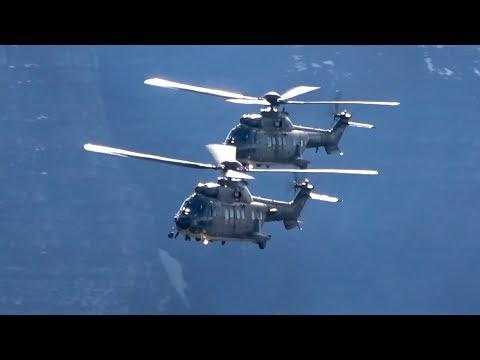 3 Eurocopter AS-332 Super Puma...