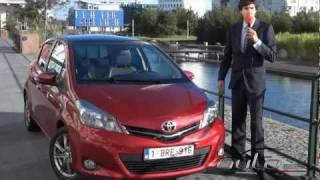 Test Nuova Toyota Yaris 2012