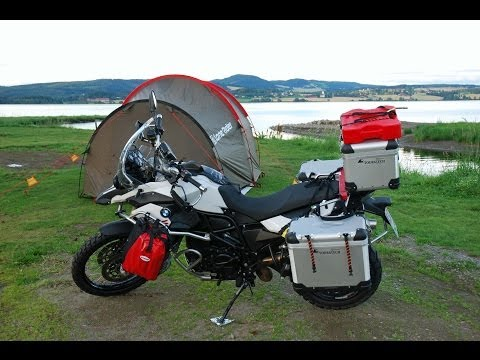 Motorcycle Tour to Norway - Cologne to North Cape - Part 1 (Getting Started)