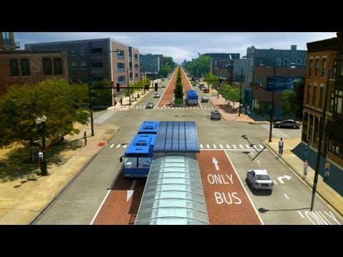 bus rapid transit - Bus Rapid Transit is fast, easy and reliable, and it's coming to Ashland Avenue. http://www.brtchicago.com.