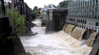 Bellows Falls (VT) United States  city photo : Bellows Falls VT Floodgates and Hurricane Irene