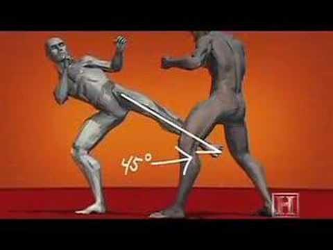 Human Weapon – Karate Inside Leg Kick