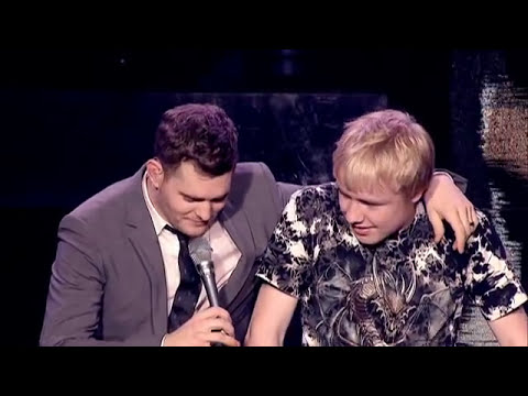 Buble Gets Shown Up
