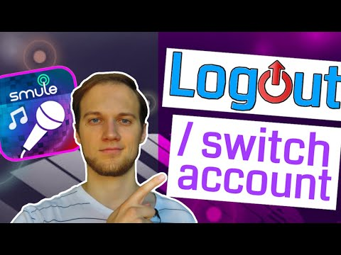 LOGOUT / Switch Account On Smule Sing! | 2 Tricks