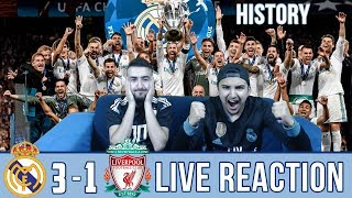 Video BARCA & MADRID FAN REACTS TO: MADRID 3-1 WIN OVER LIVERPOOL | REACTION MP3, 3GP, MP4, WEBM, AVI, FLV Agustus 2018