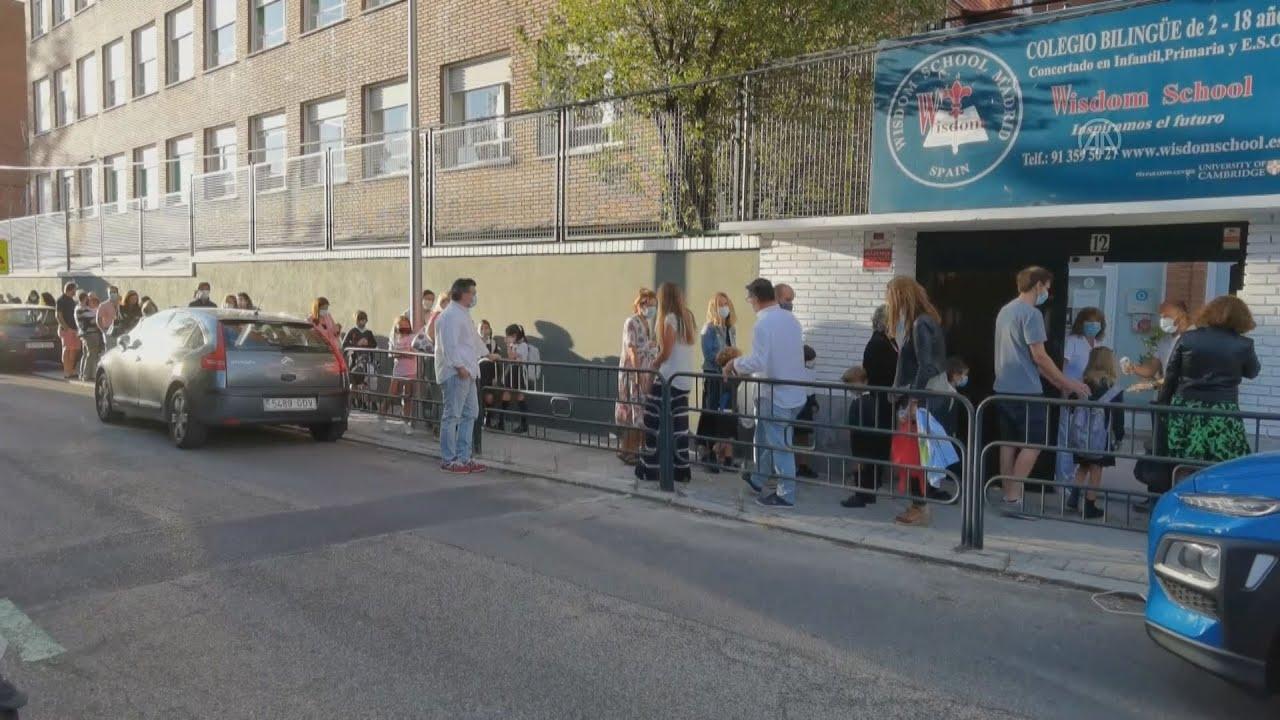 Ισπανία:  Άνοίξαν ξανά σχολεία, αν και η χώρα ξεπερνά τις 500.000 περιπτώσεις COVID-19