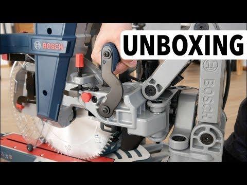 Unboxing - Bosch Professional GCM 12 GDL  Meine erste Kapp- und Gehrungssäge