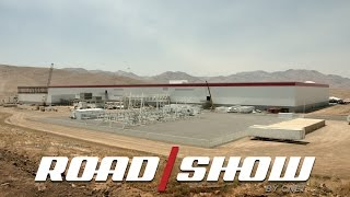 Tesla Gigafactory Tour by Roadshow