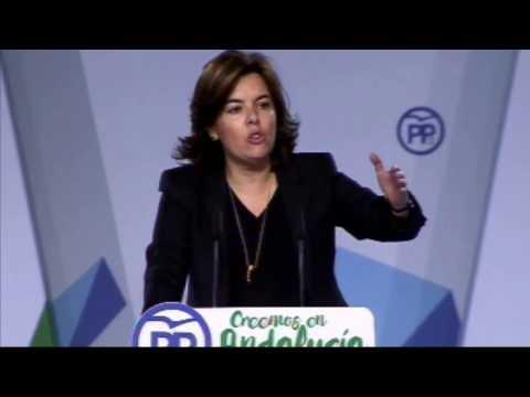 """Sáenz de Santamaría: """"A ETA la ha derrotado la democracia"""""""
