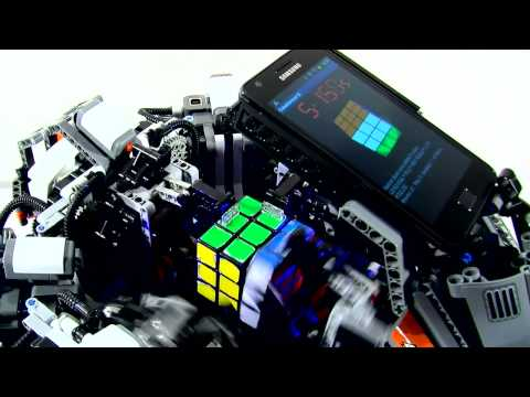 CubeStormer II - Automatic Rubik's Cube Solver