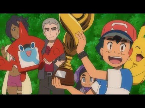 Pokemon Alola League Final Battle[Ash Won]😍