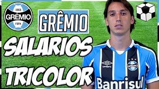 CONFIRA OS SALÁRIOS DOS JOGADORES DO TRICOLOR. Os Salários dos Jogadores do Grêmio 2016. Facebook: ...