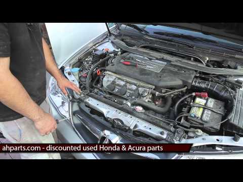 How to replace install change front bumper replacement 2002 2003 02 03 Acura TL Tutorial DIY